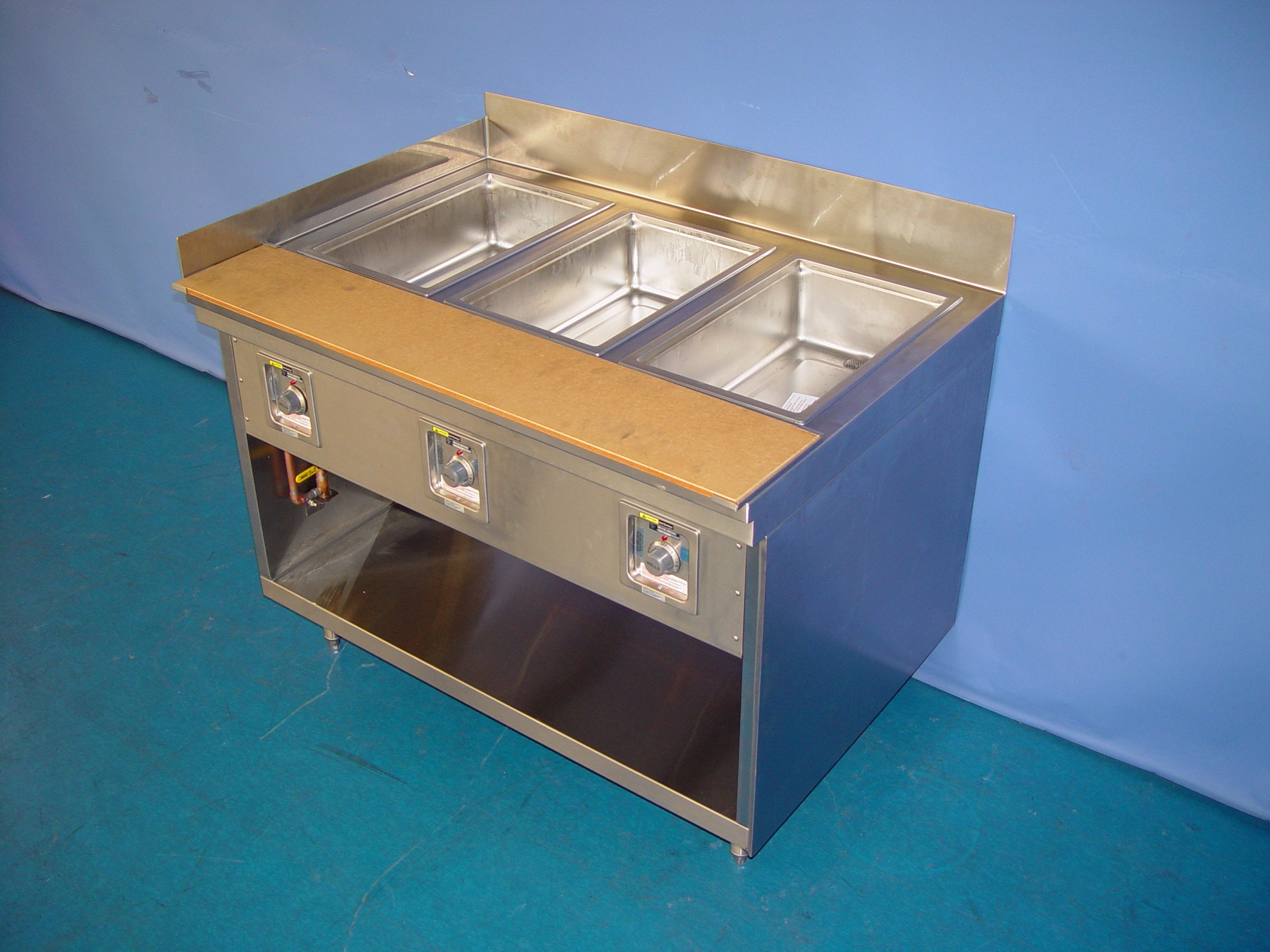 COMML - HOT FOOD TABLE - ELECTRIC INDIVIDUAL WELLS (WET/DRY)